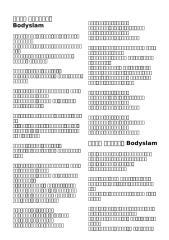 เพลง Bodyslam.doc